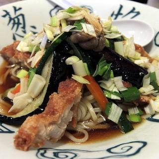 冷やし油淋鶏麺(古久家 湘南台店 (コクヤ))
