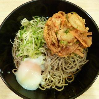 温玉かき揚げ蕎麦(冷)(吉利庵 )