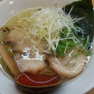 塩ラーメン(麺や 向日葵 (めんや ひまわり))