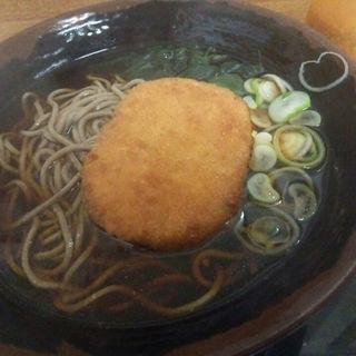 コロッケ蕎麦(君塚 池袋店 )