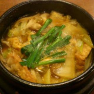 鶏鍋(呑々食堂 rico!)