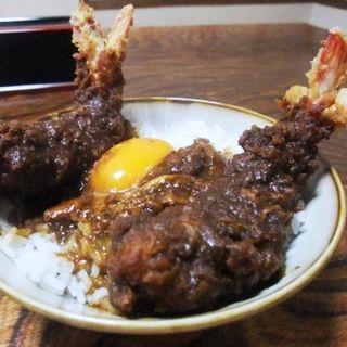 味噌えび丼(味処 叶 (あじどころ かのう))