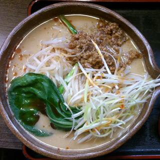 タンタン麺(信州味噌)