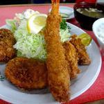 竹定食(サラダ付) (味角楼 (ミカクロウ))