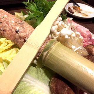 鶏鍋(和Bistro 綱 (ワビストロ ツナ))