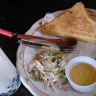 フレンチトースト(和カフェ 茶楽々 (ワカフェ サララ))