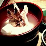 真鯛のあら汁湯豆腐