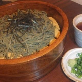 〆の茶そば(和食りん 新橋本店 )