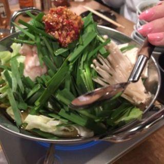モツ鍋(唄う稲穂)