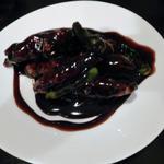 黒酢酢豚 4切