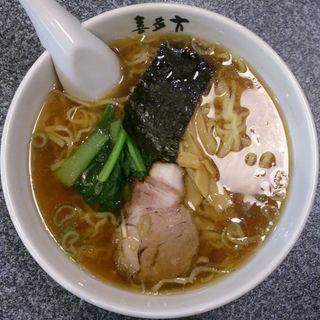 醤油ラーメン(喜多方ラーメン高蔵半田店 )
