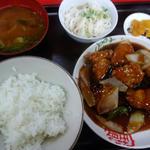 酢豚定食(喜楽 )