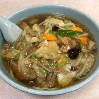サンマー麺(喜楽)