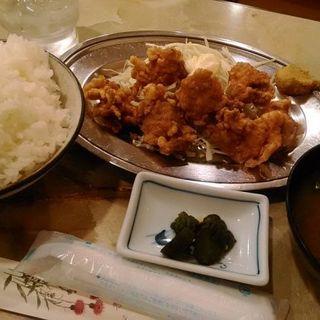 かしわの唐揚げ定食(喫茶・軽食Ⅰ.Ⅱ.Ⅲ)