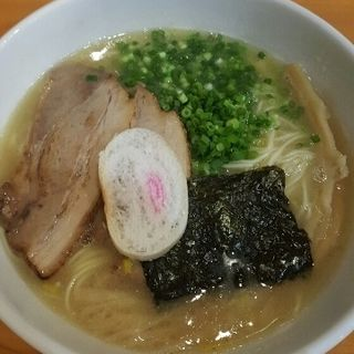鶏白湯しおらーめん(四代目麺処 ゆうじ )