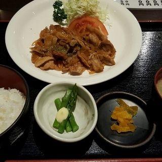 日替わりお肉定食(四季の蔵 (しきのくら))
