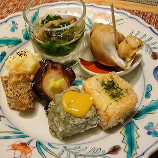 前菜の盛合せ(四季旬菜 nakano (シキシュンサイナカノ))