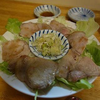 ネギ塩豚ロース焼(四季菜)