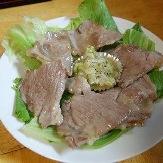 豚ネギ塩(四季菜)