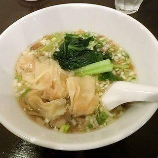 海老ワンタン麺(四川料理巴蜀)
