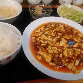 四川風麻婆豆腐定食(四川食堂)