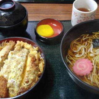 カツ丼セット(そば)
