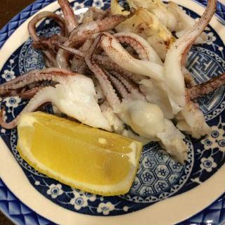 げそ塩焼き(地魚料理 ますだ )