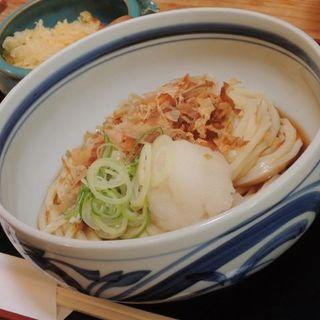 ぶっかけうどん(うどん山菜 塩屋 (うどんさんさい しおや))