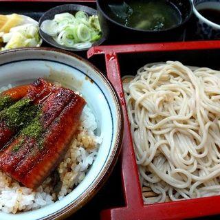 うな丼セット(大むら そば店 (おおむらそばてん))
