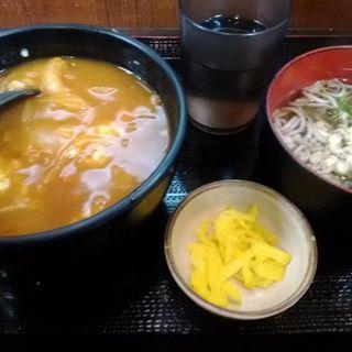 カレー丼セット(大一そば 天満店 )