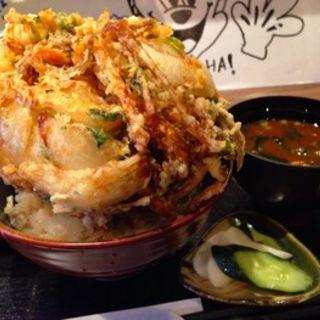 太麺皿うどんの大盛り(大光楼 本店 )