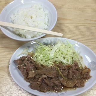 生姜焼き(大勝軒 )