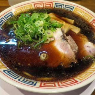 中華そば(煮干しブラック)(大和 (YAMATO))