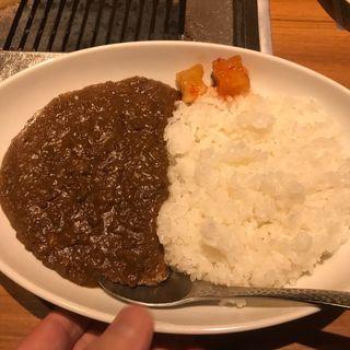 和牛挽肉カレーライス(焼肉ジャンボ 白金店 )