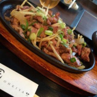 岩中豚の生姜焼き(大木屋匠 )