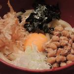 納豆うどん(大木戸矢部 花園町店 (おおきどやべ))