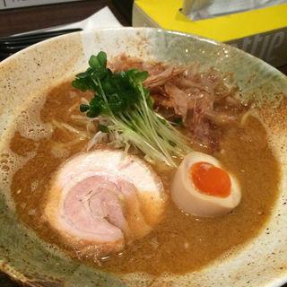鶏×魚 和風ラーメン(大杉製麺)