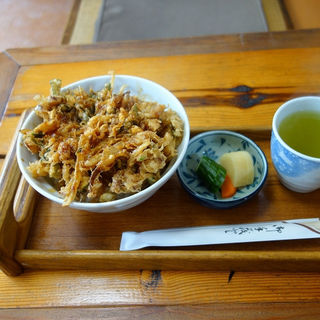 かき揚げ丼(大町亭 本店 (天丼))