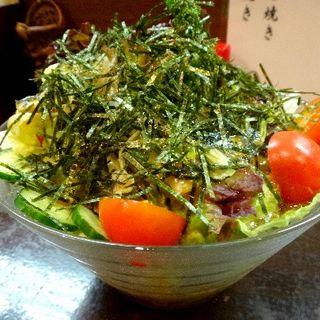 お母さんの野菜サラダ(大衆酒場 鳥勝)