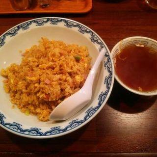 カレー炒飯大盛(大観園)