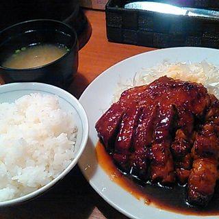 トンテキ定食200g(大阪トンテキ 大阪駅前第3ビル店 )