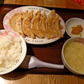 餃子定食(大阪王将 川崎駅東口店)