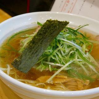 肉 醤油(大阪麺哲 (メンテツ))