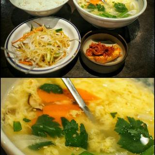 玉子スープセット(大陸食道 小山店 )
