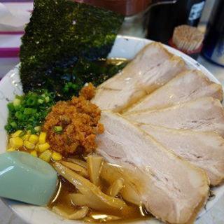 からし麺(中)チャーシュートッピング(大雄ラーメン向井町店)