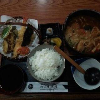 天ぷら煮込み定食 竹(大黒屋 )
