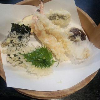 揚げたて 天ぷら定食(天ぷら すぎ山 )