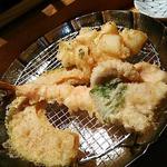 天ぷらめし定食