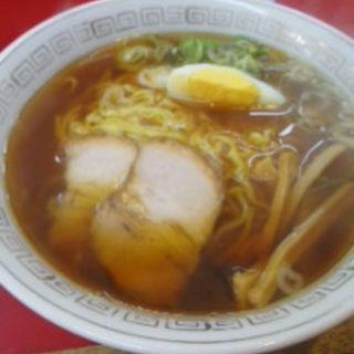 ミニ天津飯+ラーメンセット(天津楼 (テンシンロウ))