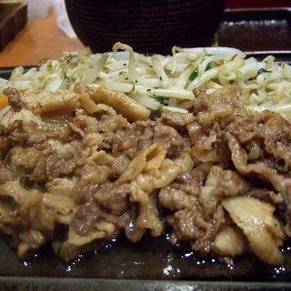 カルビ定食(天神ホルモン 今泉店 )